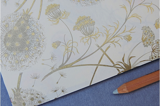 Papier décoratif Rossi1931© - Fleurs des champs Dandelion