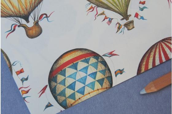Papier florentin Rossi1931© - Les ballons