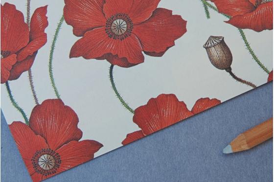Papier décoratif Rossi1931© - Coquelicots
