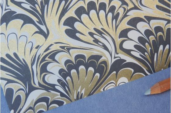Papier décoratif Rossi1931© marbré