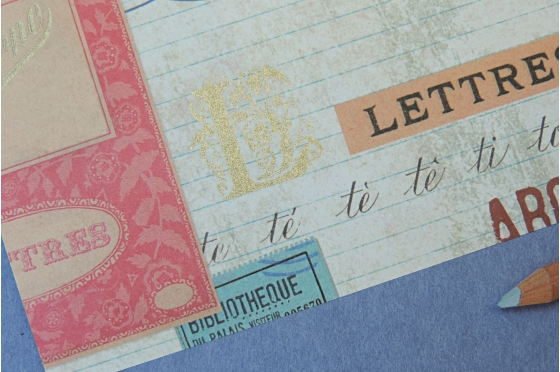 Papier florentin Rossi1931© - Lettres