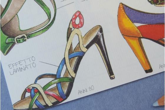 Papier florentin Rossi1931© - Chaussures
