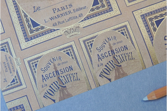Papier décoratif Rossi1931© - Tour eiffel