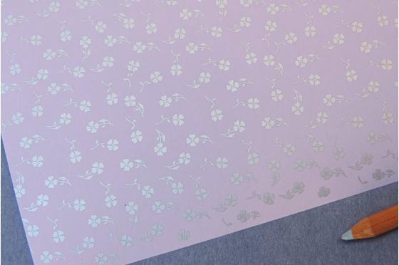 Papier décoratif Rossi1931© - petits trèfles
