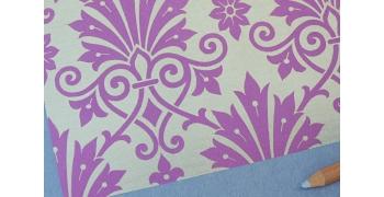 Papier décoratif Rossi1931© - Fleurs de Damas
