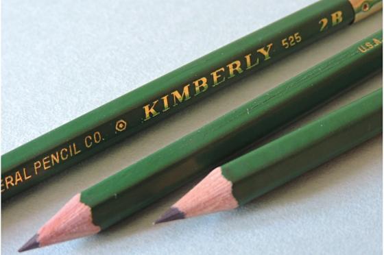 Crayon 2B Graphite Kimberly® 525-2B medium