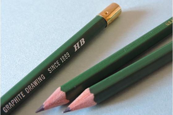 Crayon HB Graphite Kimberly® 525-HB hard