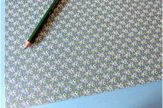 Papier florentin - les oliviers
