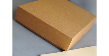 Boites carton Kraft - A4 +++ - Fermeture américaine