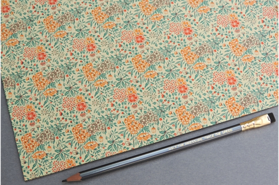 Papier florentin - fleurs des champs