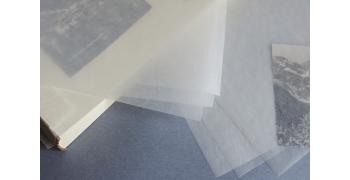 Grande feuille cristal pergamine 40g/m2