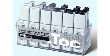 Copic Wide Set C 12 marqueurs & 12 encres