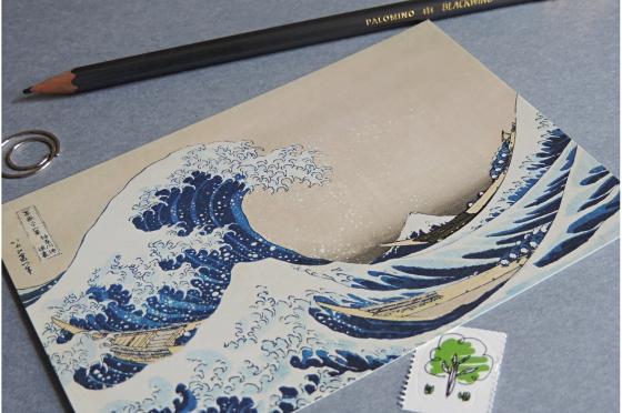 Sous la vague Hokusai
