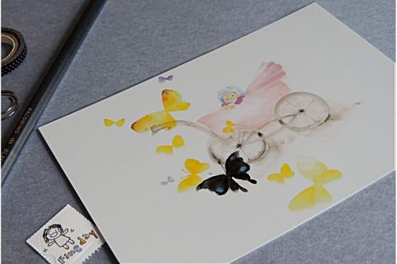 Papillons et bébé
