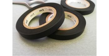 3 masking-tape slim© fins black mat 6mm