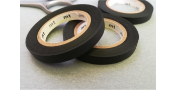 3 masking-tape slim© fins black mat 6mm