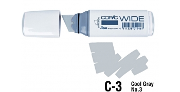 Copic Wide C3 cool gray N°3