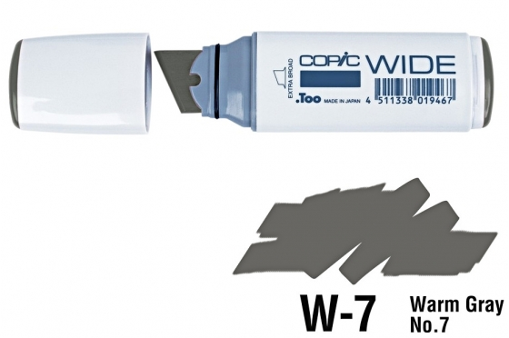 Copic Wide W7 warm gray N°7