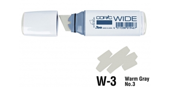 Copic Wide W3 warm gray N°3