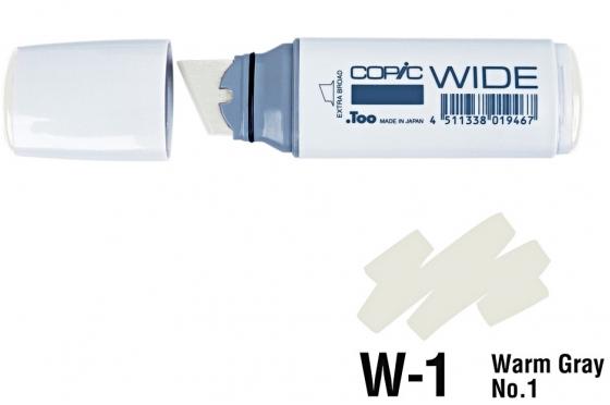 Copic Wide W1 warm gray N°1