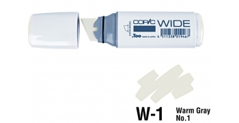 Copic Wide W1 warm gray N°1