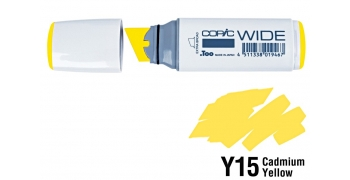Copic Wide Y15 Cadmium Yellow