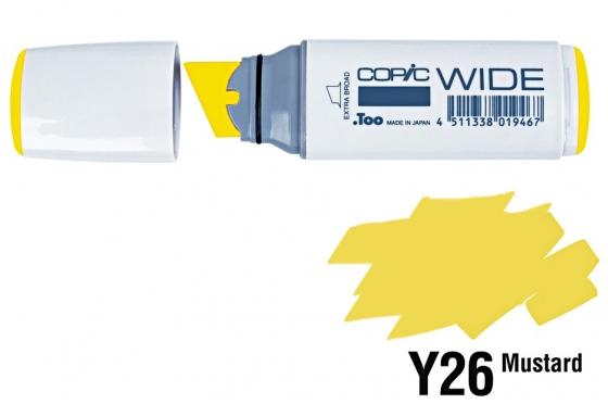 Copic Wide Y26 Mustard