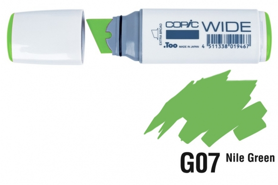 Copic Wide G07 Nile green