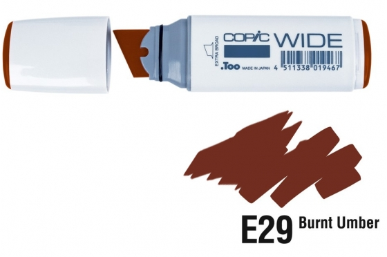 Copic Wide E29 Burnt umber