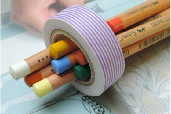 masking-tape deco© Border purple