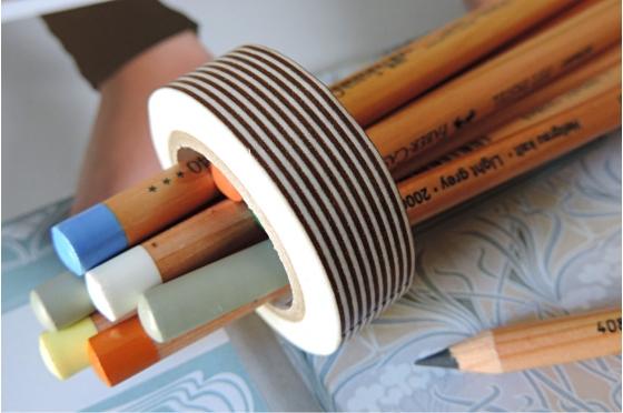 masking-tape deco© Border brown