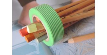masking-tape deco© Border fine light green