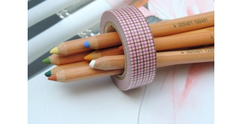 masking-tape deco© - hougan pink & brown