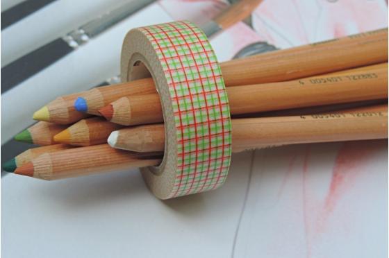 masking-tape deco© hougan green & orange