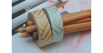 2 masking-tape deco© gold & silver