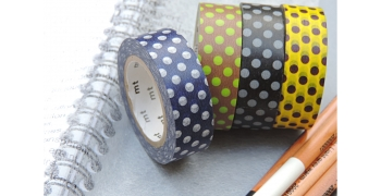 Set de 4 masking-tape deco© dot