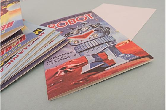 12 cartes de correspondance