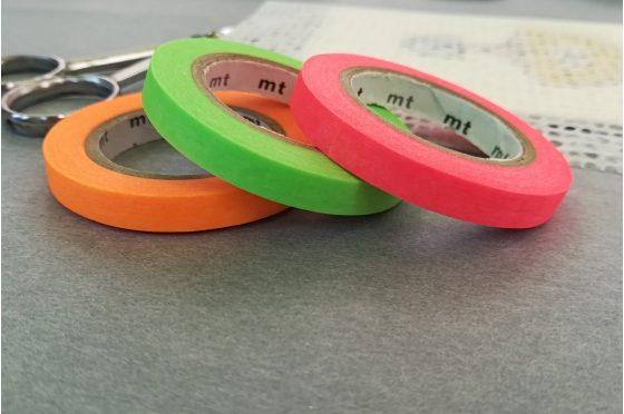3 masking-tape slim©  fins unis