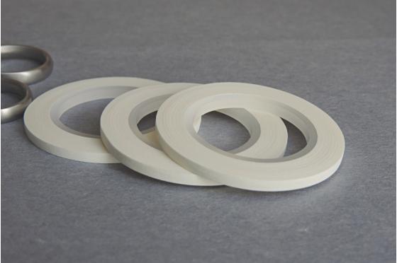 3 masking-tape slim© fins blanc mat 3 mm