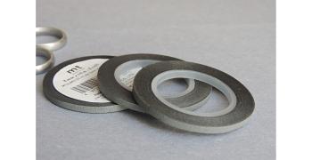 3 masking-tape slim© fins gris mat 3 mm