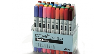 Set de 36 feutres Copic Ciao