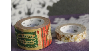 Masking tape Noël message
