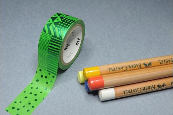 masking-tape fab© script green