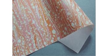 Papier indien marbré Bobelo