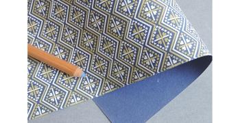 Papier indien kilim sable