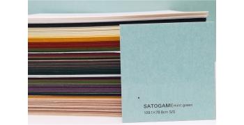 SATOGAMI Mint Green 80g/m2