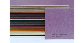SATOGAMI Light violet 80g/m2