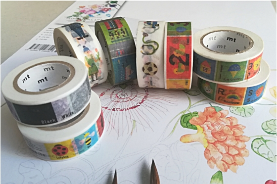 Set de 8 masking-tape kids©