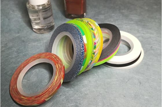 13 masking-tape slim© set nailart