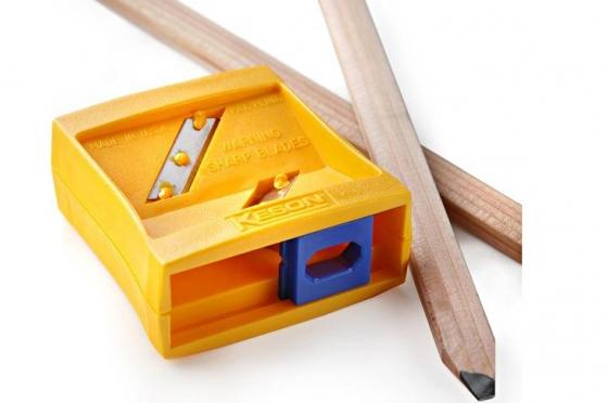 Taille-crayons coupe à plat et oblique